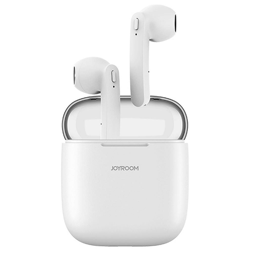earbud-headphones JOYROOM JR-T04 TWS Bluetooth Earbuds with Mic IPX5 Water Resistant-White JOYROOM JR T04 TWS Bluetooth Earbuds White