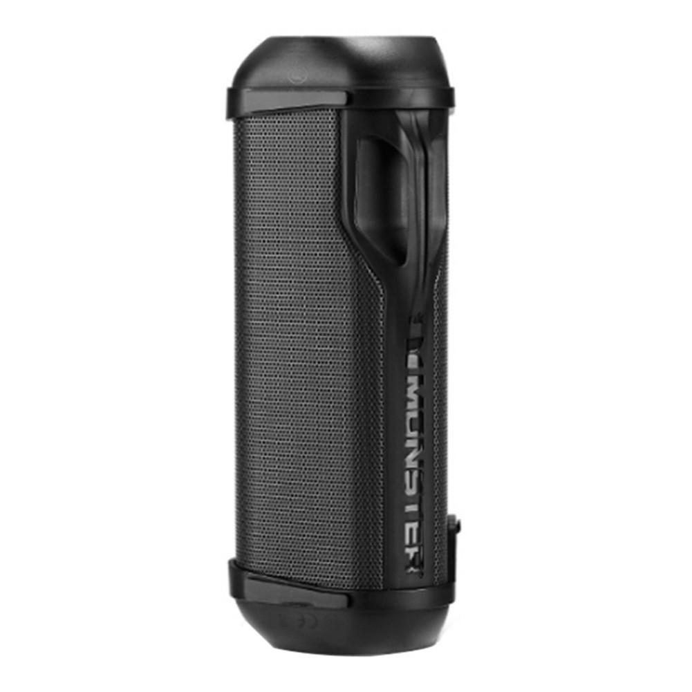 bluetooth-speakers Monster FireCracker Portable Bluetooth Speaker IPX5 Water Resistant-Black Monster FireCracker Portable Bluetooth Speaker Black 3