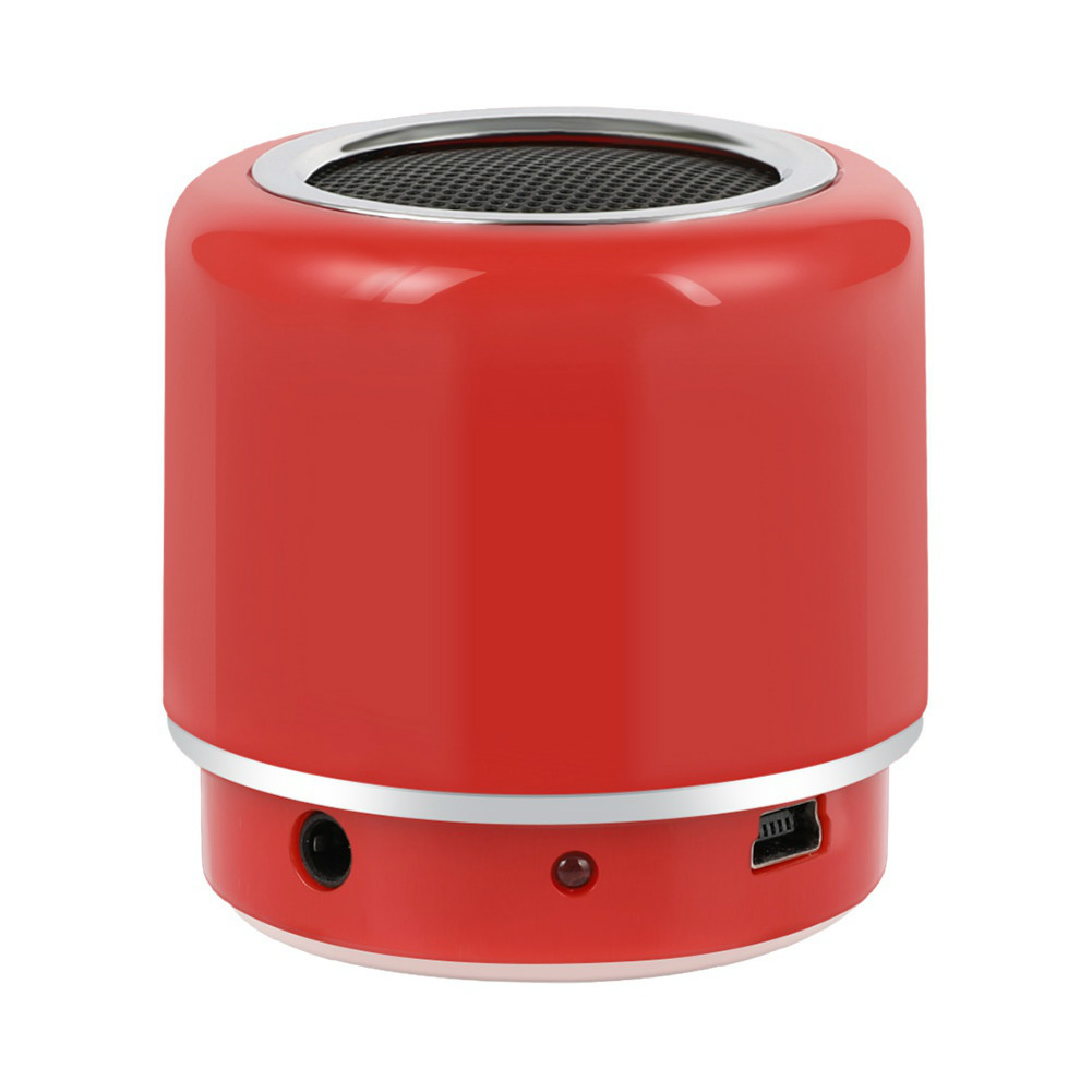 bluetooth-speakers Q.Touch QBS-02 Bluetooth Speaker Waterproof 360 Degrees Sound-Red Q Touch QBS 02 Bluetooth Speaker Red 1