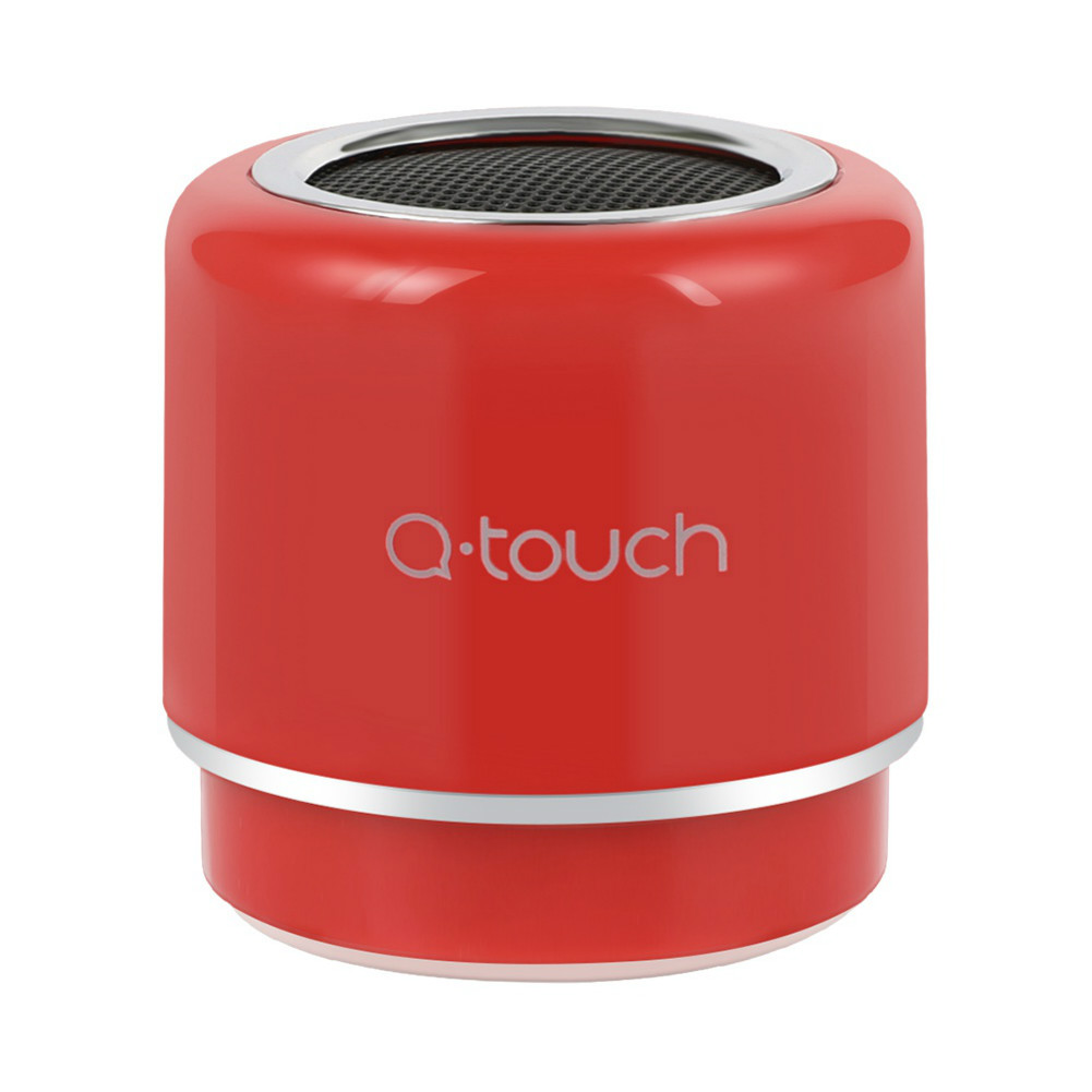 bluetooth-speakers Q.Touch QBS-02 Bluetooth Speaker Waterproof 360 Degrees Sound-Red Q Touch QBS 02 Bluetooth Speaker Red 2