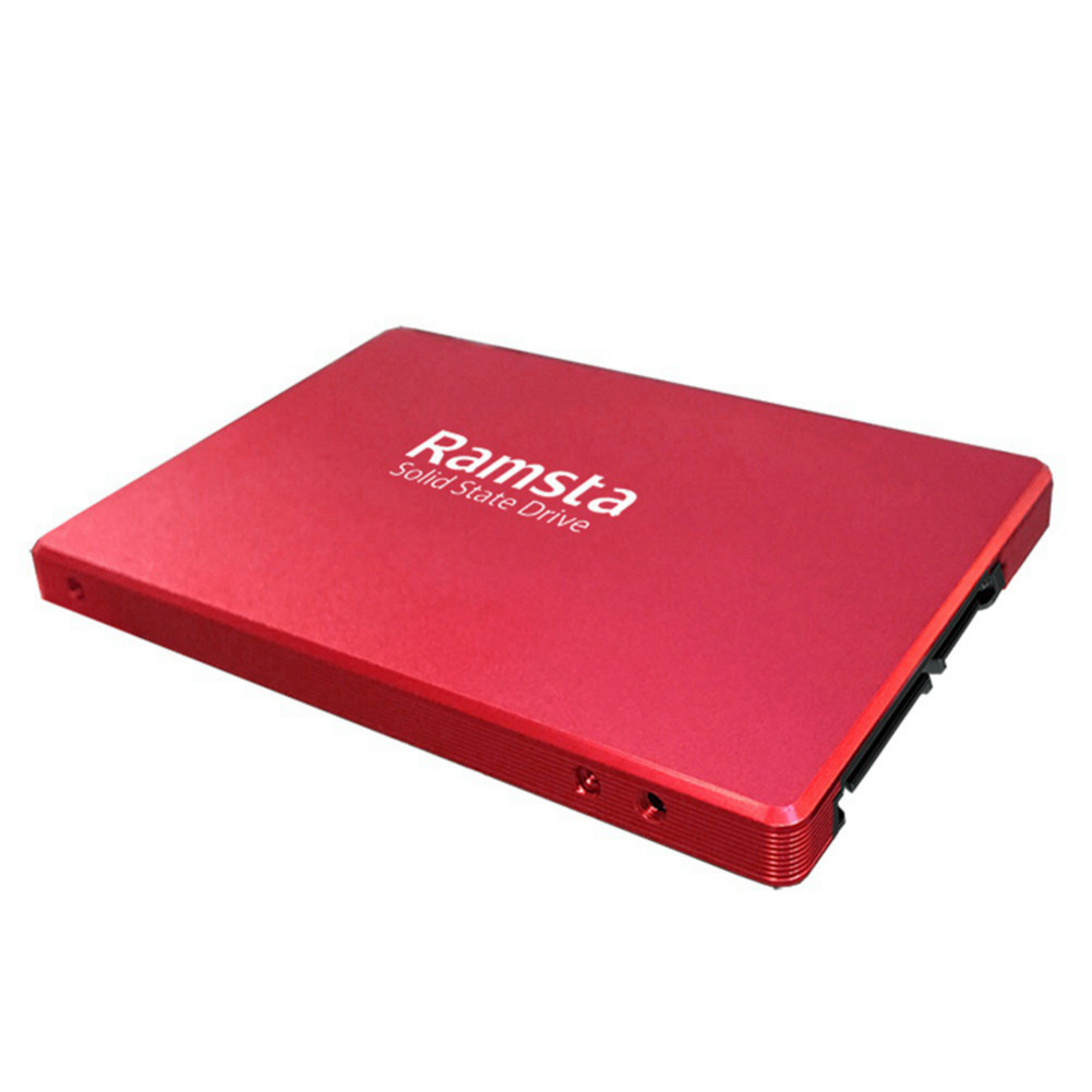 ssd-hdd-enclosures Ramsta R800 120GB SATA3 High Speed SSD Solid State Drive Hard Disk 2.5 Inch Sequential Read 562MB/s-Red Ramsta R800 120GB SATA3 High Speed SSD Red