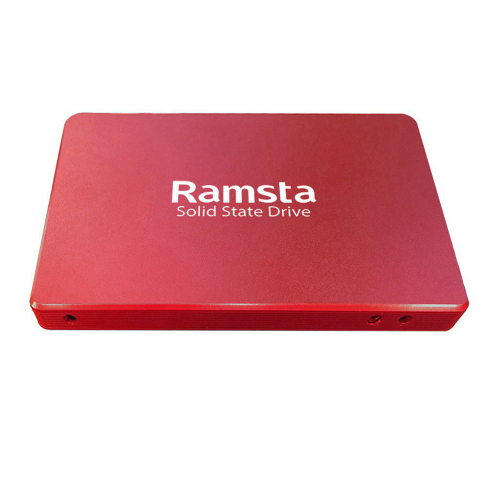 storage Ramsta R800 120GB SATA3 High Speed SSD Solid State Drive Hard Disk 2.5 Inch Sequential Read 562MB/s-Red Ramsta R800 120GB SATA3 High Speed SSD Red 5