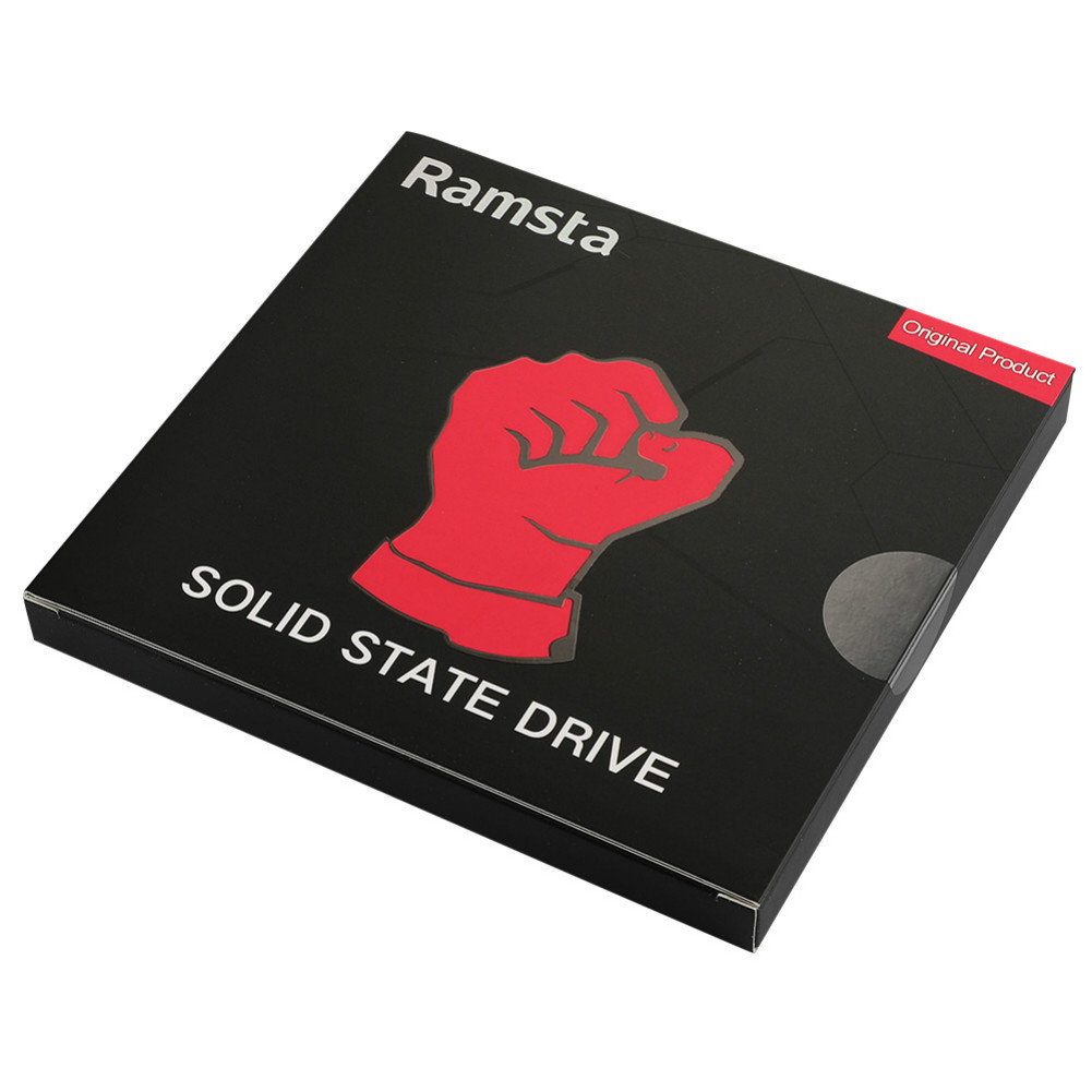storage Ramsta S800 480GB SATA3 High Speed SSD Solid State Drive Hard Disk 2.5 Inch Sequential Read 562MB/s-Red Ramsta S800 480GB SATA3 High Speed SSD Solid State Drive Hard Disk 5