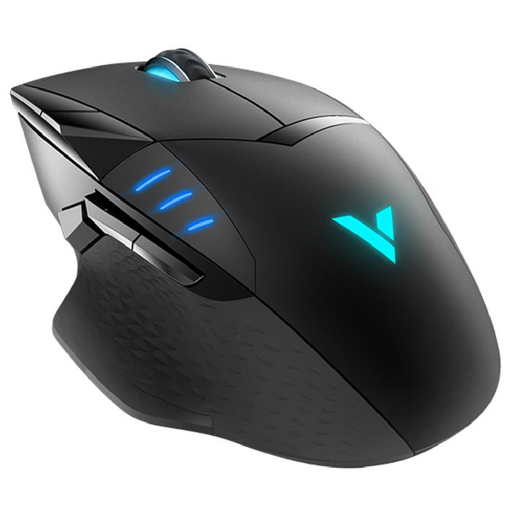 wired-mouse Rapoo VT300 USB Wired Gaming Mouse 6200DPI Sensor With RGB IR Optical 10 Buttons Programmable Accurate Cursor-Black Rapoo VT300 USB Wired Gaming Mouse 1