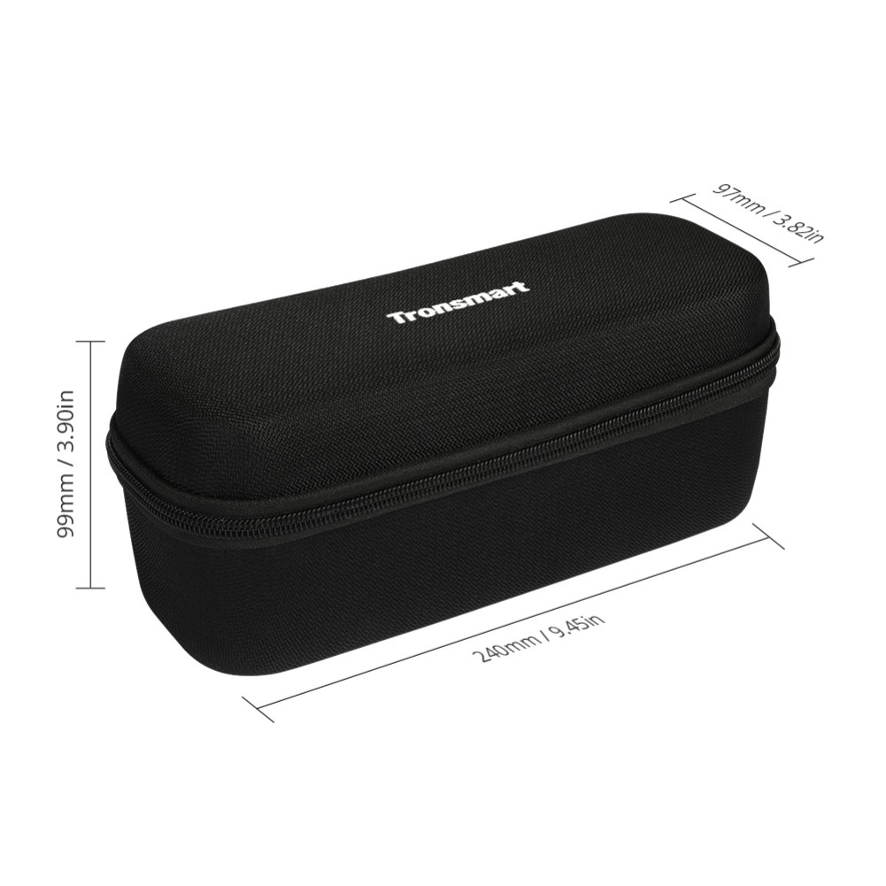 bluetooth-speakers Tronsmart Durable Protective Carrying Case Hard Travel Bag Cover for Element Force/Force+/T6 Plus Bluetooth Speakers Tronsmart Element Force Force T6 Plus Case 9