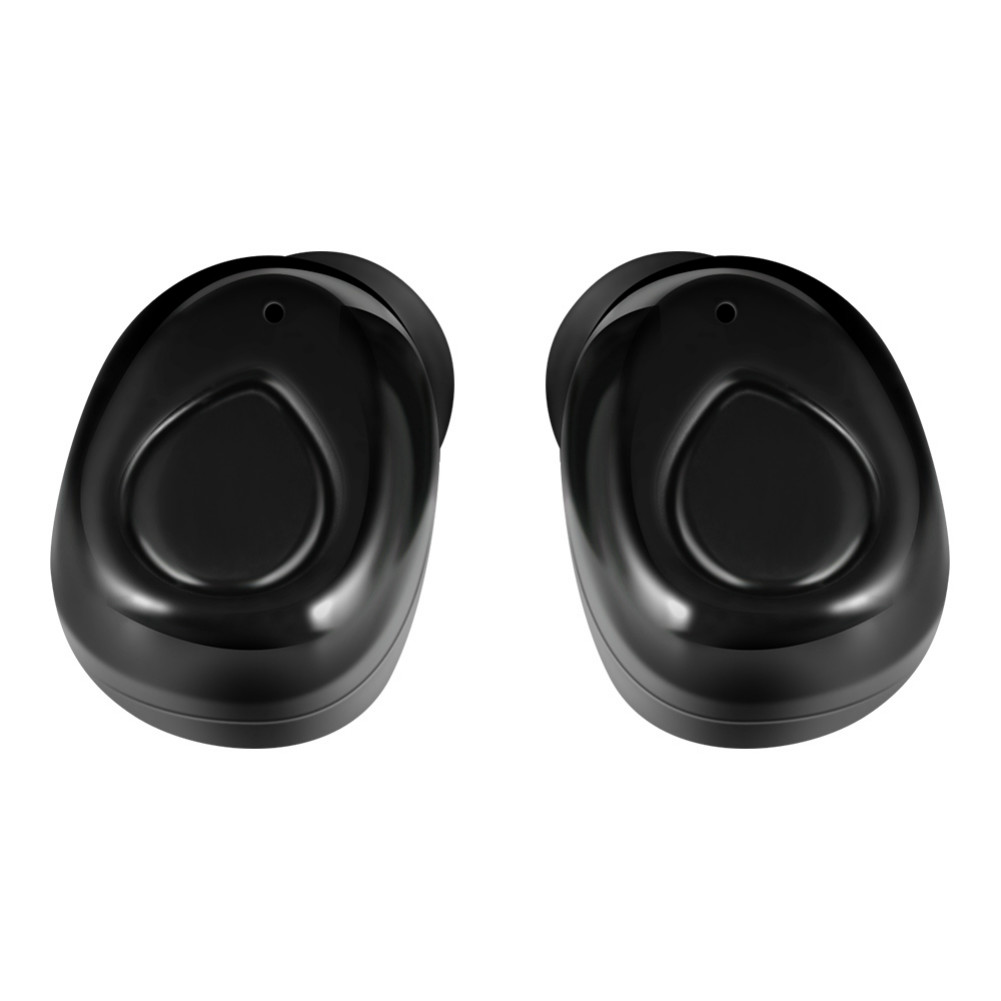 earbud-headphones X-18s TWS Earbuds Dual Bluetooth 4.2 Noise Reduction About 4 Hours Working Time-Black X 18s TWS Dual Bluetooth 4 2 Earphones Black 5
