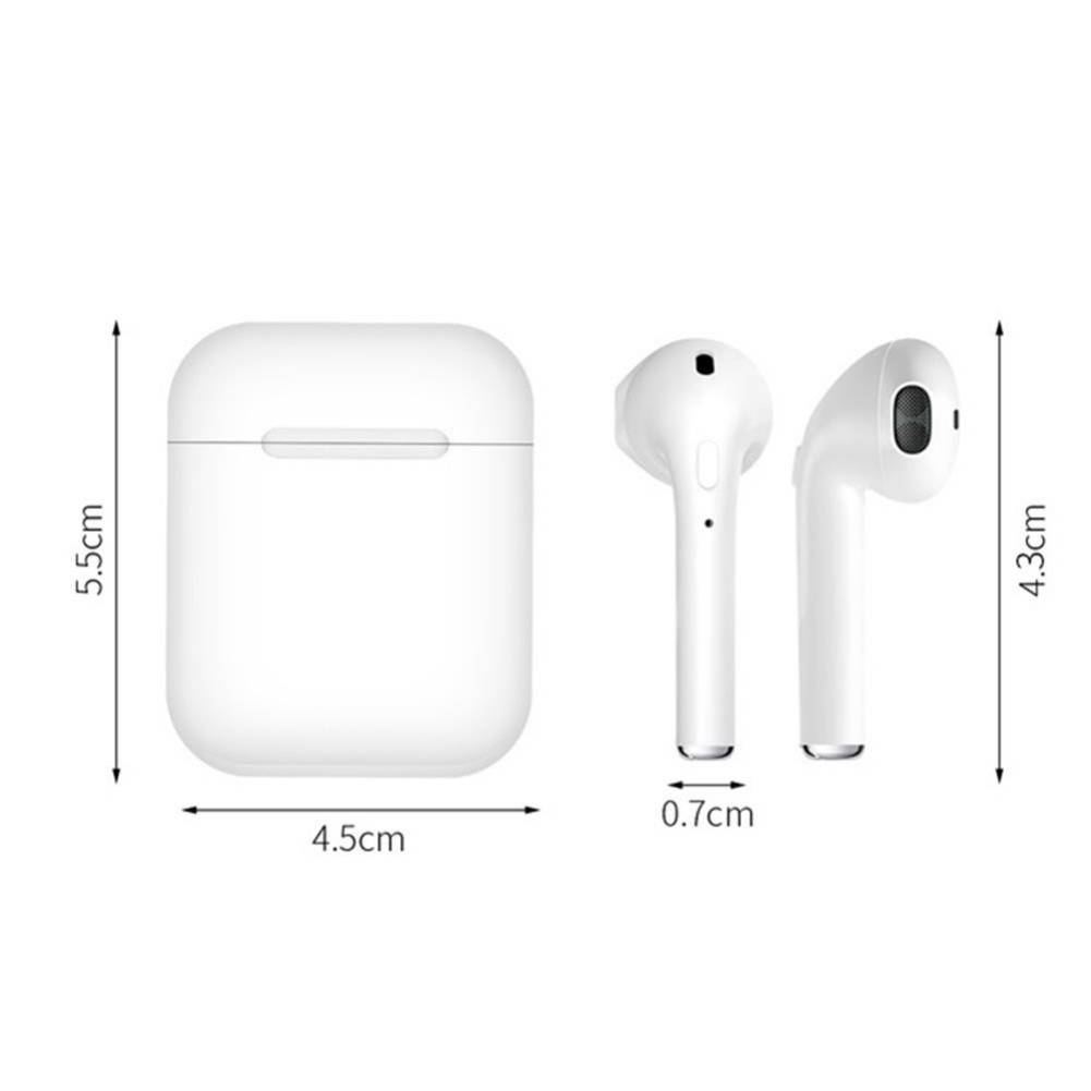 earbud-headphones i10 TWS Bluetooth 5.0 Earbuds Button Control About 4 Hours Working Time-White i10 TWS Bluetooth 5 0 Earbuds White 4 1
