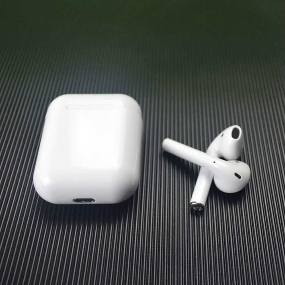 earbud-headphones i18 TWS Bluetooth 5.0 Earbuds Touch Control About 4.5 Hours Working Time-White i18 Wireless in Ear Sport Bluetooth 5 0 Earphones White 3