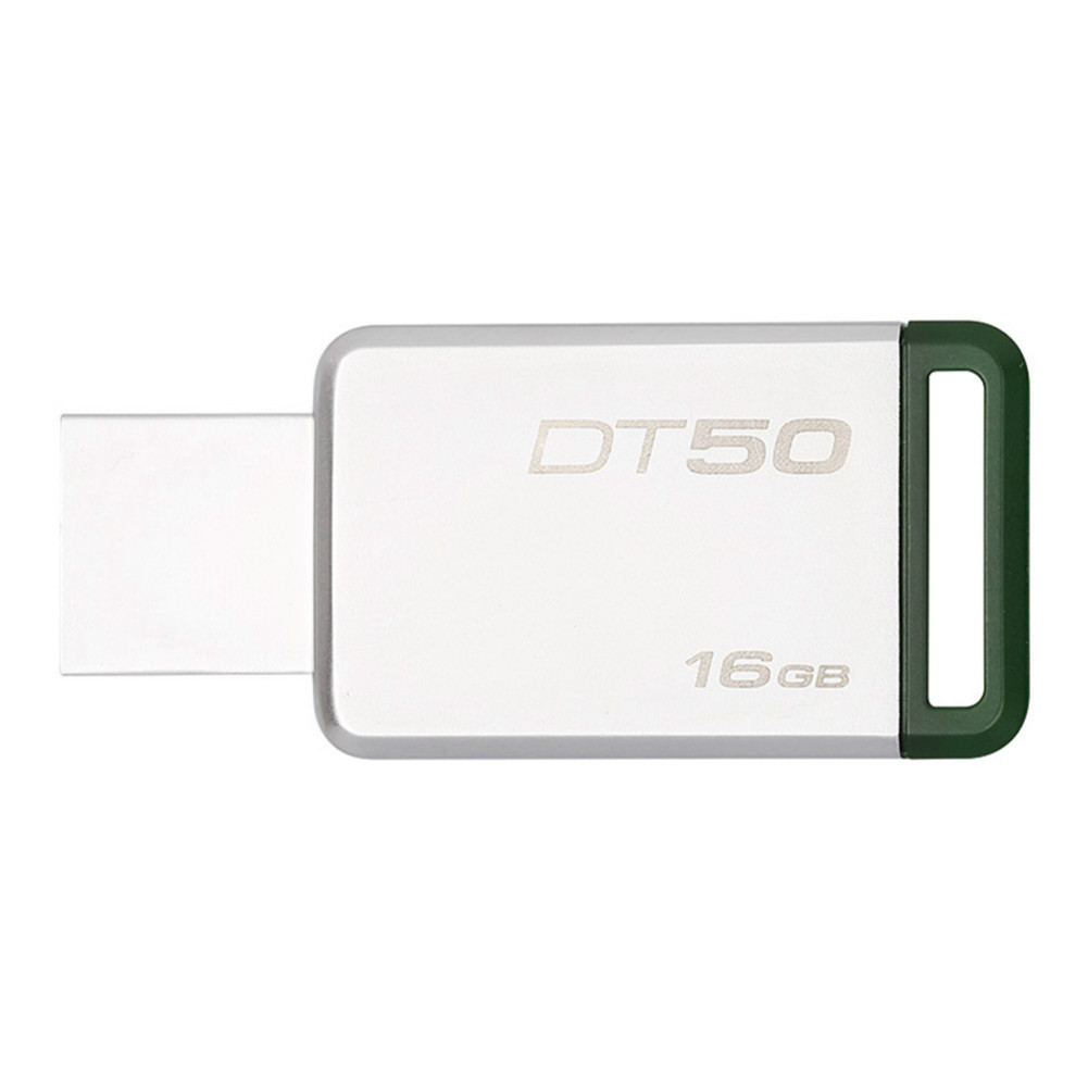 usb-flash-drives Kingston DT50 16GB USB Flash Drive Data Traveler USB 3.0 Interface 110MB/s Read Speed-Random Color Kingston DT50 16GB USB Flash Drive USB 3 0 Interface Random Color