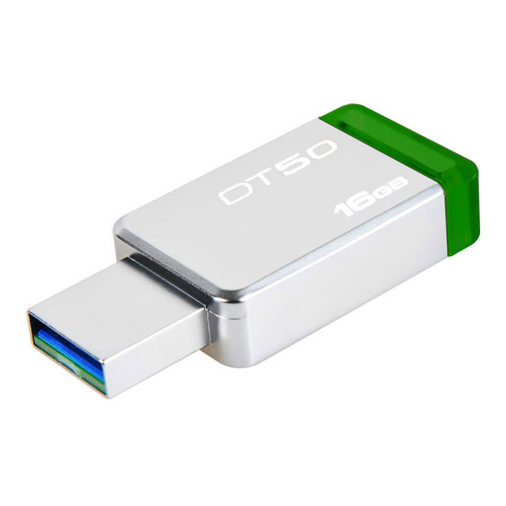 usb-flash-drives Kingston DT50 16GB USB Flash Drive Data Traveler USB 3.0 Interface 110MB/s Read Speed-Random Color Kingston DT50 16GB USB Flash Drive USB 3 0 Interface Random Color 1