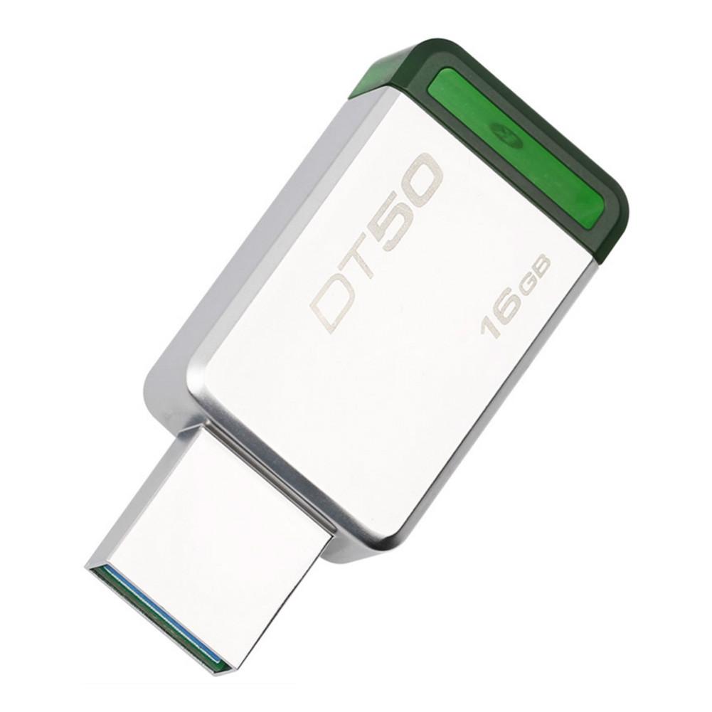usb-flash-drives Kingston DT50 16GB USB Flash Drive Data Traveler USB 3.0 Interface 110MB/s Read Speed-Random Color Kingston DT50 16GB USB Flash Drive USB 3 0 Interface Random Color 3