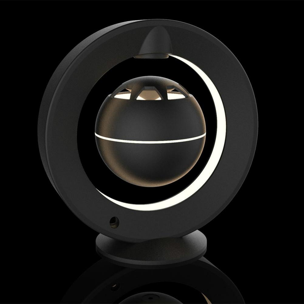 bluetooth-speakers C1 Bluetooth Magnetic Suspension Speaker HD Surround Sound LED Light Base-Black M1 Magnetic Suspension Speaker Bluetooth 1