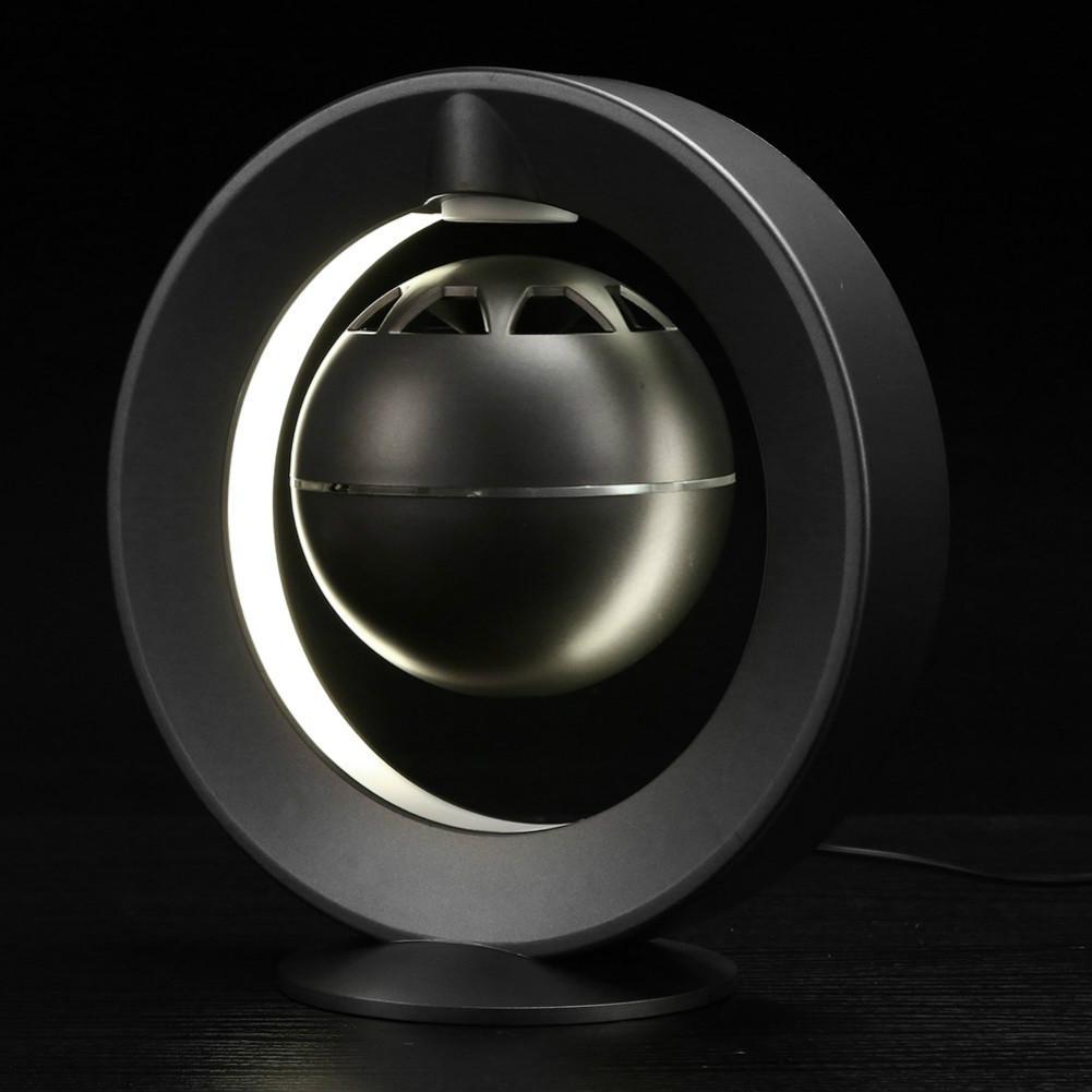 bluetooth-speakers C1 Bluetooth Magnetic Suspension Speaker HD Surround Sound LED Light Base-Black M1 Magnetic Suspension Speaker Bluetooth 2