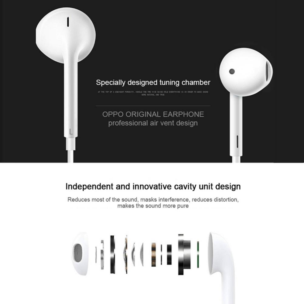 earbud-headphones MH135 Wired Semi-in-ear Earphone HD Sound With Mic-White MH135 Wire Semi in ear Earphone White 3