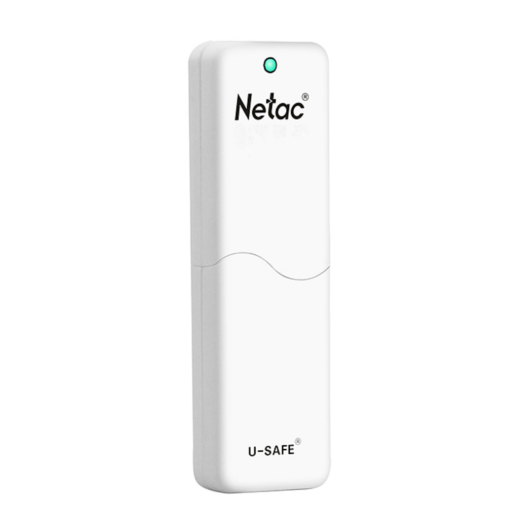 usb-flash-drives Netac LangKe U335 USB 3.0 16GB U Disk With Protection Function-White Netac LangKe U335 USB 3 0 16GB U Disk 2
