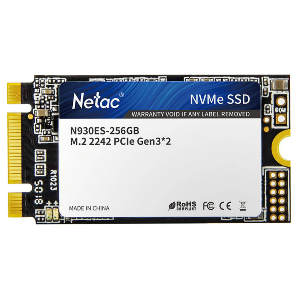 ssd-hdd-enclosures Netac N930ES NVMe M.2 2242 256GB SSD Internal Solid State Drive Reading Speed 2000MB/s Netac N930ES NVMe M 2 2242 256GB SSD