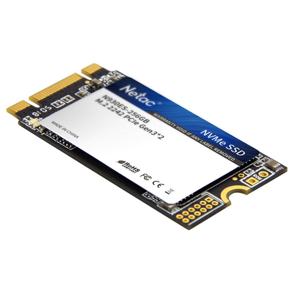 ssd-hdd-enclosures Netac N930ES NVMe M.2 2242 256GB SSD Internal Solid State Drive Reading Speed 2000MB/s Netac N930ES NVMe M 2 2242 256GB SSD 1