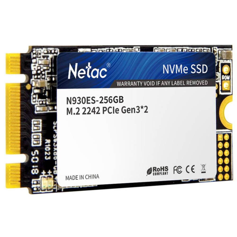 ssd-hdd-enclosures Netac N930ES NVMe M.2 2242 256GB SSD Internal Solid State Drive Reading Speed 2000MB/s Netac N930ES NVMe M 2 2242 256GB SSD 3