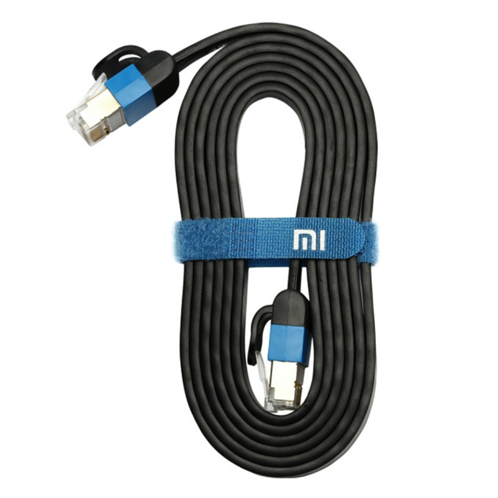 computer-networking-cables Original Xiaomi Fast Speed Gigabit Ethernet Cable 1.5M-Black Original Xiaomi Fast Speed Gigabit Ethernet Cable
