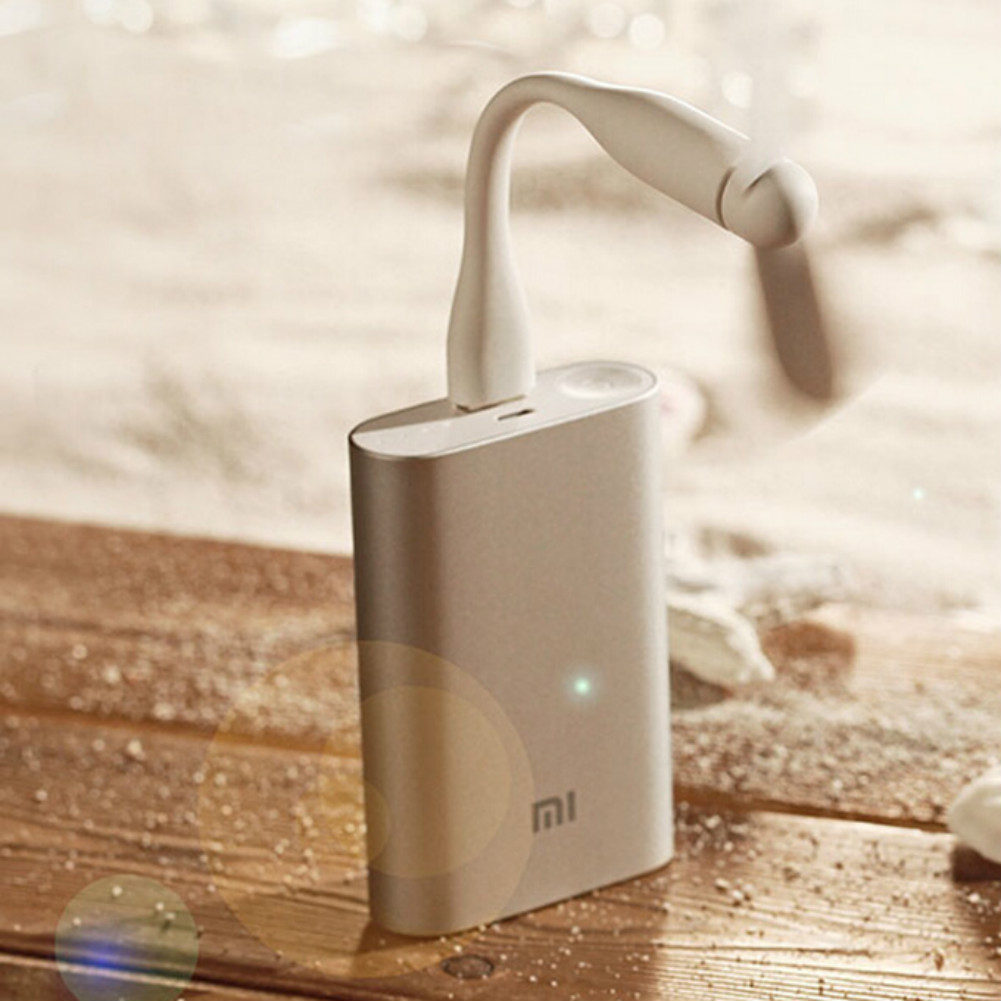 gadgets Original Xiaomi Portable USB Mini Fan Ultra-silenced Detachable Adjustable Fan For Laptop Powerbank USB Devices-White Original Xiaomi Portable USB Mini Fan 2