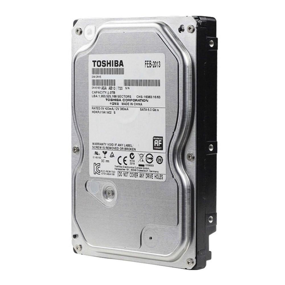 storage TOSHIBA DT01ABA200V 2TB Surveillance Specialised Storage 3.5 Inch HDD SATA3 5700 RPM-Silver TOSHIBA DT01ABA200V 2TB HDD Silver