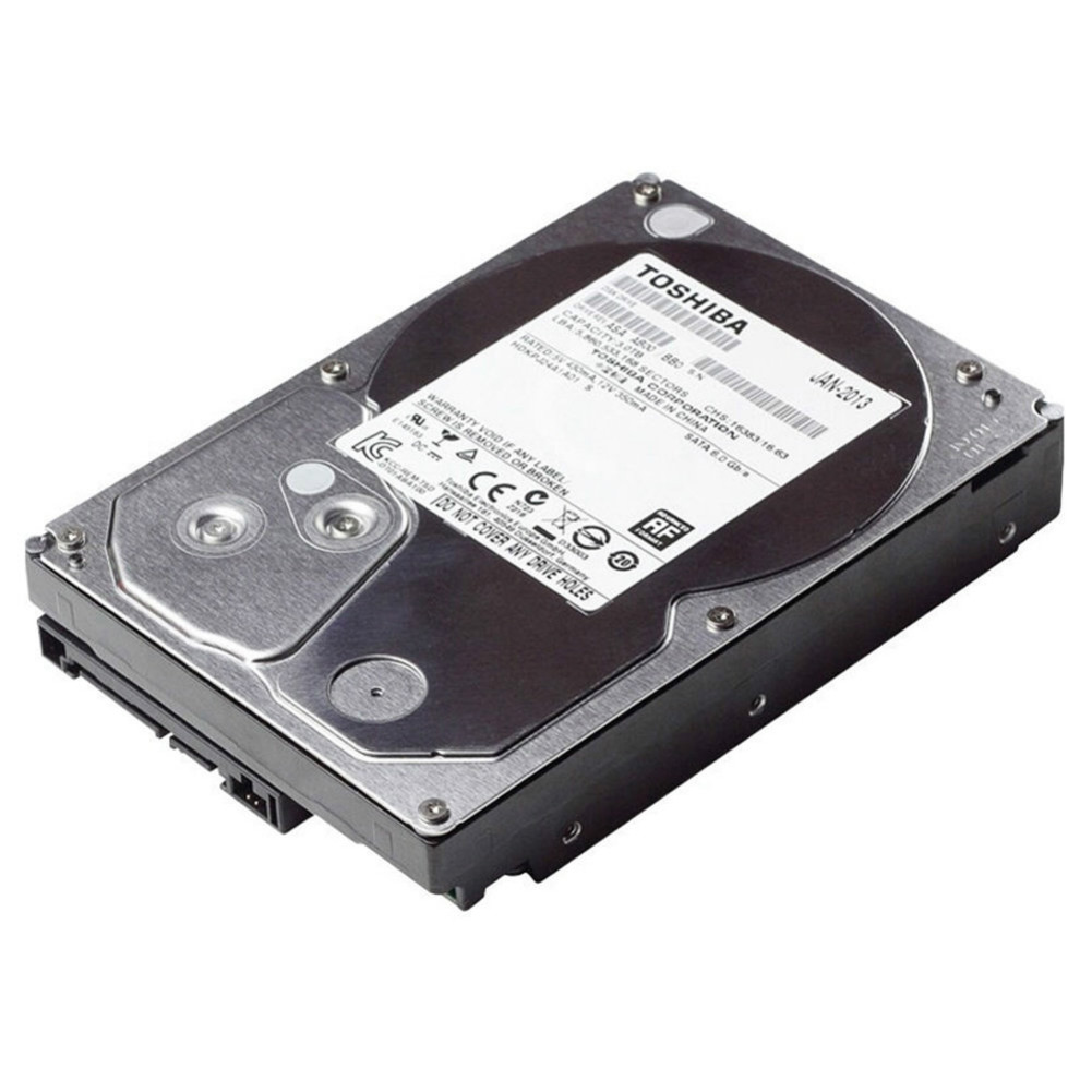storage TOSHIBA DT01ABA200V 2TB Surveillance Specialised Storage 3.5 Inch HDD SATA3 5700 RPM-Silver TOSHIBA DT01ABA200V 2TB HDD Silver 2
