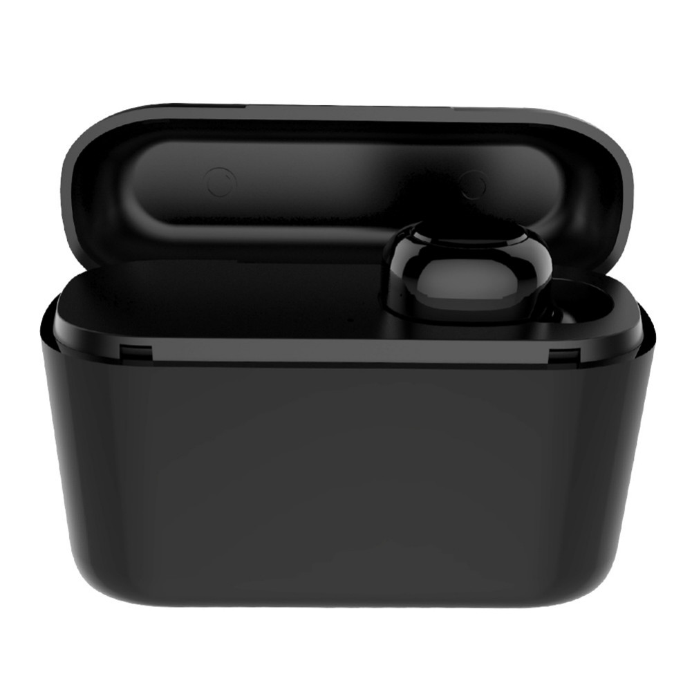 earbud-headphones S570 TWS Wireless Earphone HD Sound 300mAh Battery Bluetooth 4.1 with Charging Box-Black TWS S570 Bluetooth 4 1 Earphone 1