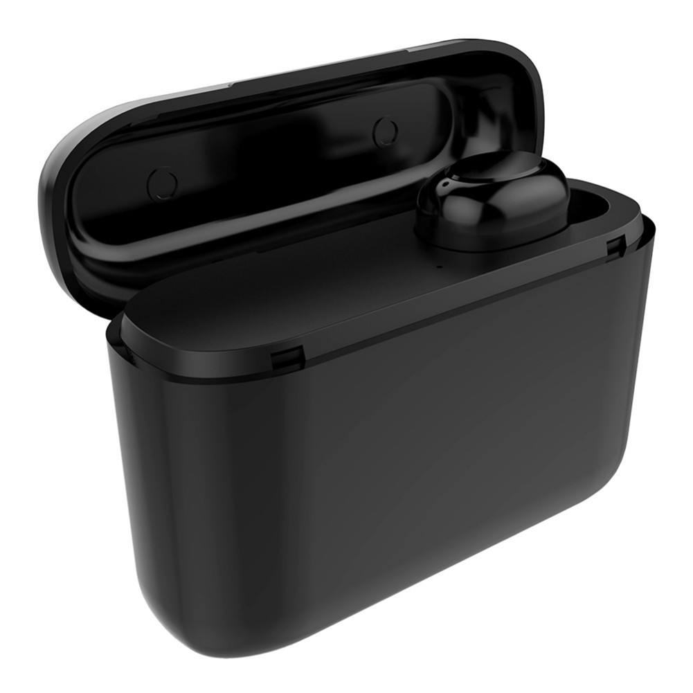earbud-headphones S570 TWS Wireless Earphone HD Sound 300mAh Battery Bluetooth 4.1 with Charging Box-Black TWS S570 Bluetooth 4 1 Earphone 2