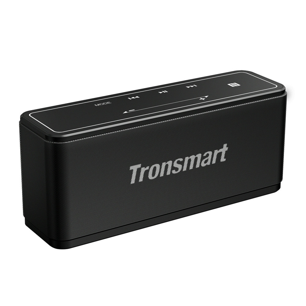 bluetooth-speakers [2 Packs] Tronsmart Element Mega SoundPulse™ Bluetooth Speaker with Powerful 40W Max Output 3D Digital Sound TWS Intuitive Touch Control-Black Tronsmart Element Mega Bluetooth Speaker 1