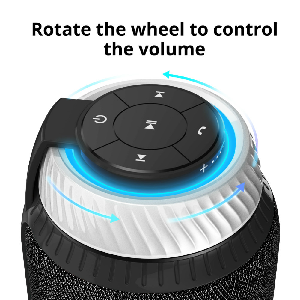 bluetooth-speakers [2 Packs]Tronsmart Element T6 25W Portable Bluetooth Speaker with 360 Degree Stereo Sound and Built-in Microphone-Black Tronsmart Element T6 Bluetooth Speaker 4