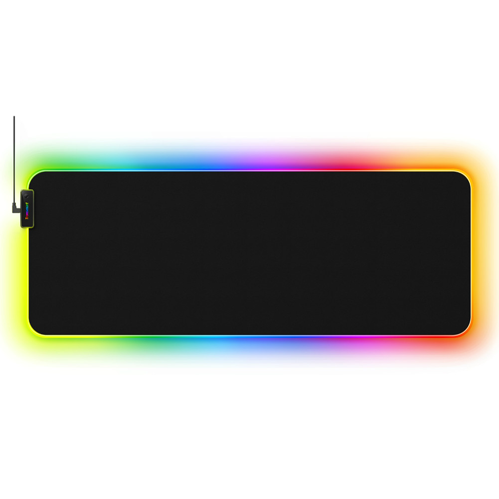 mouse-pads Tronsmart Spire RGB Gaming Mouse Pad Mat with Micro-textured Cloth Surface Non-slip Base for Gamers Tronsmart Spire RGB Gaming Mouse Pad
