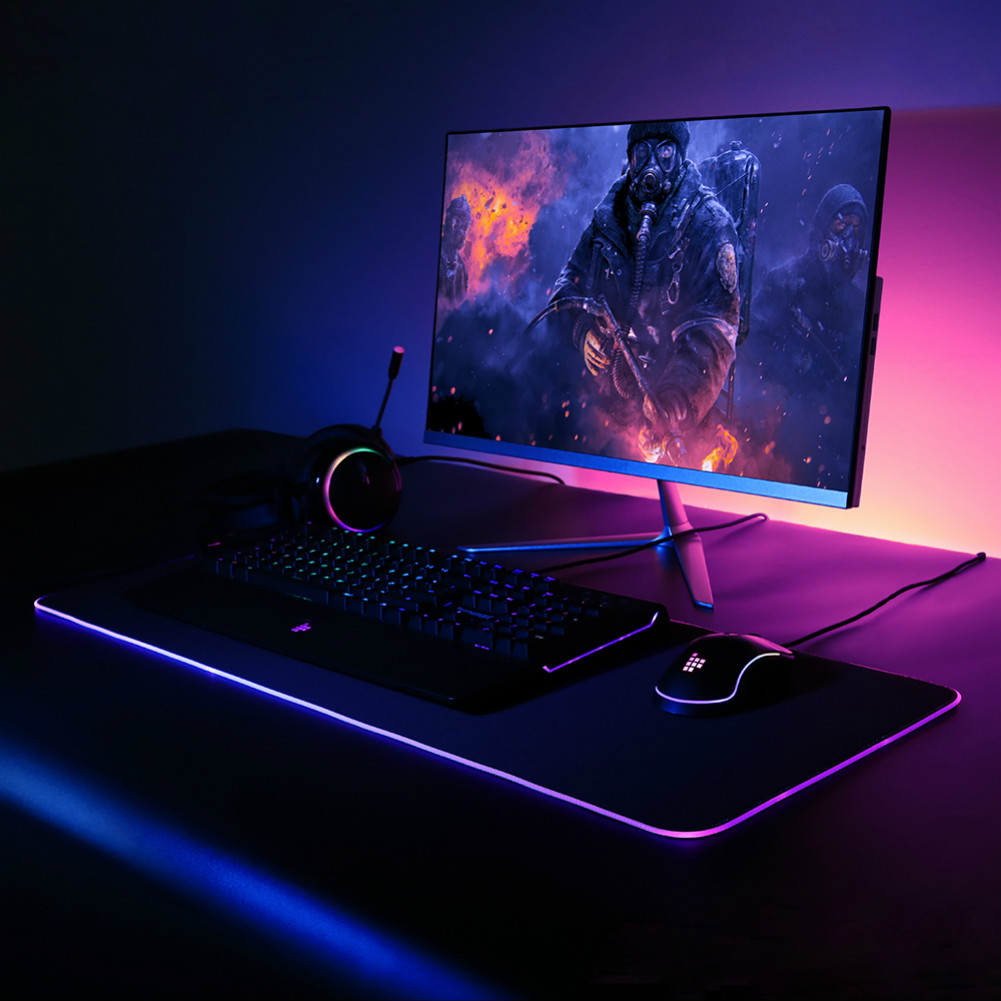 mouse-pads Tronsmart Spire RGB Gaming Mouse Pad Mat with Micro-textured Cloth Surface Non-slip Base for Gamers Tronsmart Spire RGB Gaming Mouse Pad 6