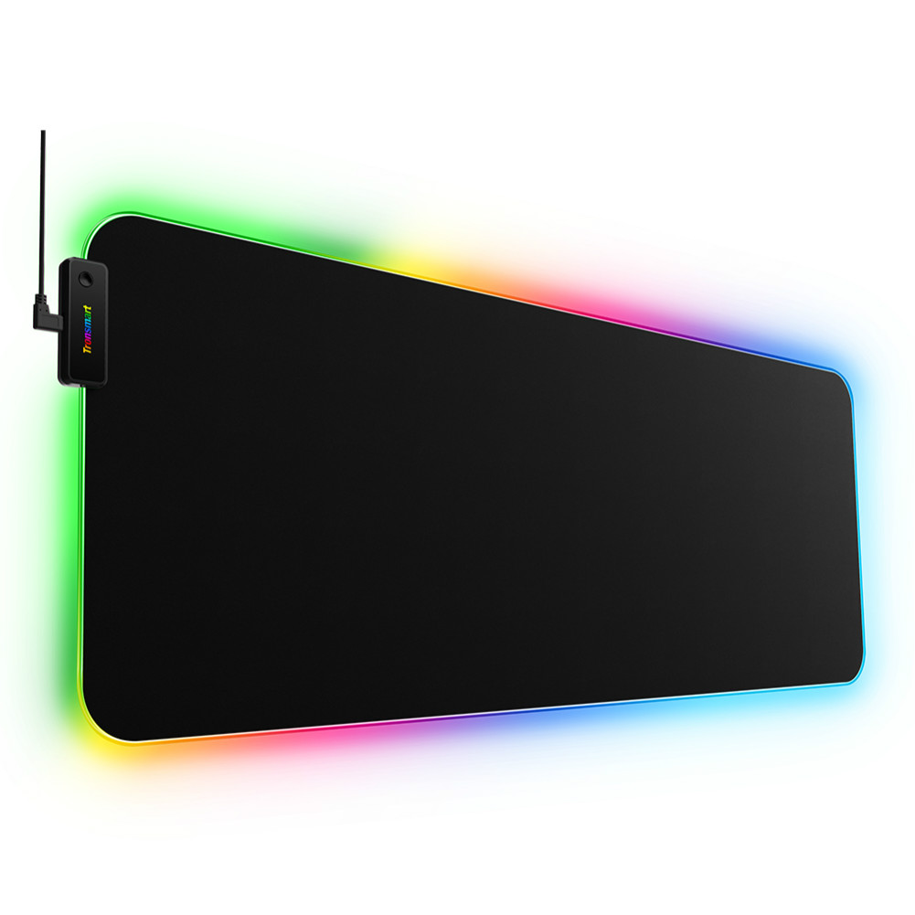 mouse-pads Tronsmart Spire RGB Gaming Mouse Pad Mat with Micro-textured Cloth Surface Non-slip Base for Gamers Tronsmart Spire RGB Gaming Mouse Pad 8