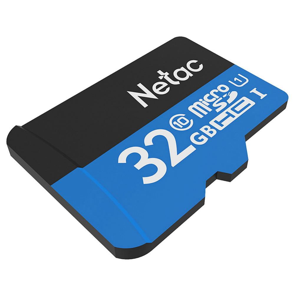 microsd-tf-card Netac P500 32GB Micro SD Card TF Card Up To 80MB/S-Blue vNetac P500 32GB Micro SD Memory Card 3