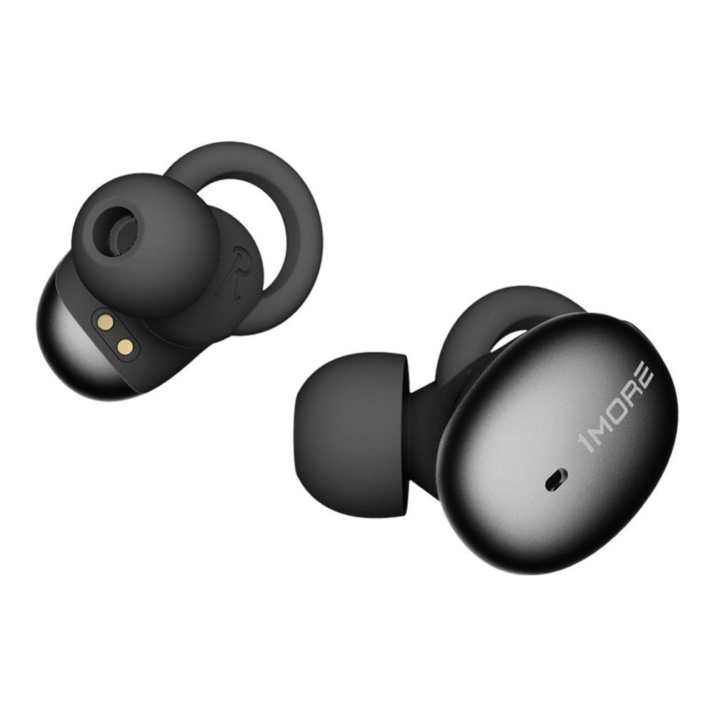 earbud-headphones 1MORE E1026BT TWS Bluetooth 5.0 Earphones Hi-Fi Sound atpX/ AAC Stereo 410mAh Charging Case-Black 1MORE E1026BT TWS Earphone 1