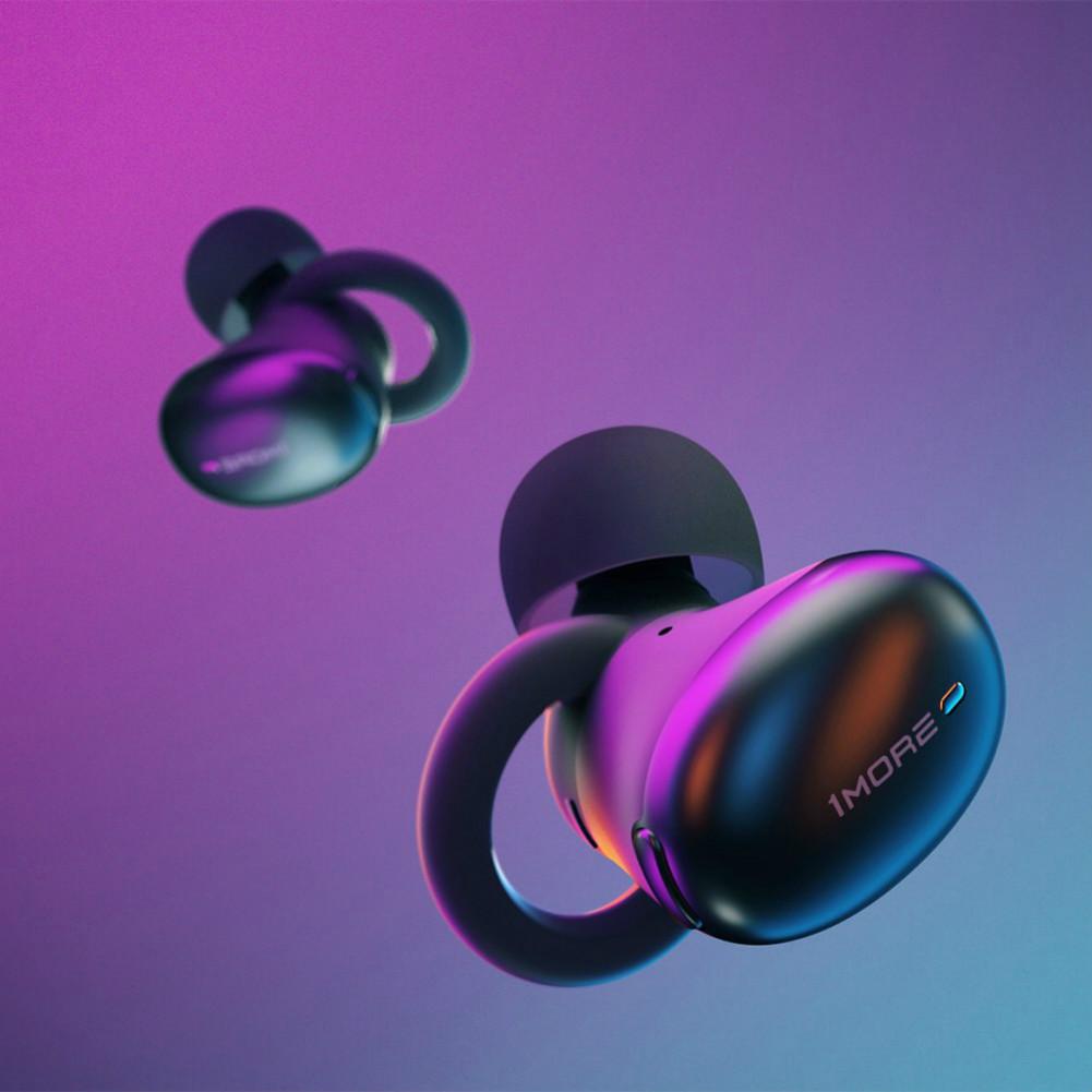 earbud-headphones 1MORE E1026BT TWS Bluetooth 5.0 Earphones Hi-Fi Sound atpX/ AAC Stereo 410mAh Charging Case-Black 1MORE E1026BT TWS Earphone 6