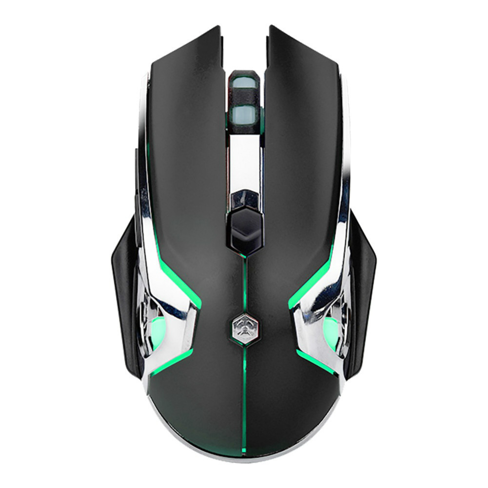 wired-mouse Ajazz AJ120 USB Wired Gaming Mouse 3200DPI 6 Keys Customized Macro Programmable Buttons For Home Office - Black Ajazz AJ120 USB Wired Gaming Mouse