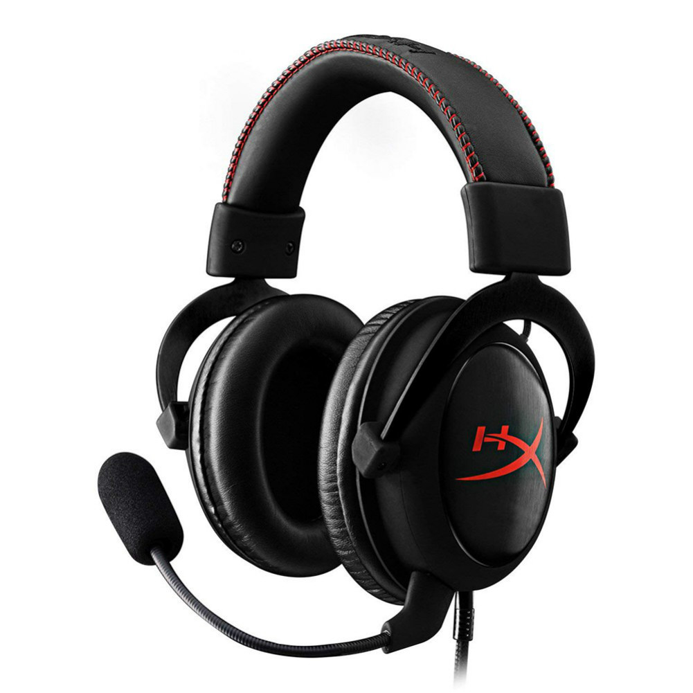 on-ear-over-ear-headphones Kingston HyperX Cloud Core Gaming Headset 53MM Drivers Superior Audio Detachable Microphone-Red Kingston HyperX Cloud Core Gaming Headset