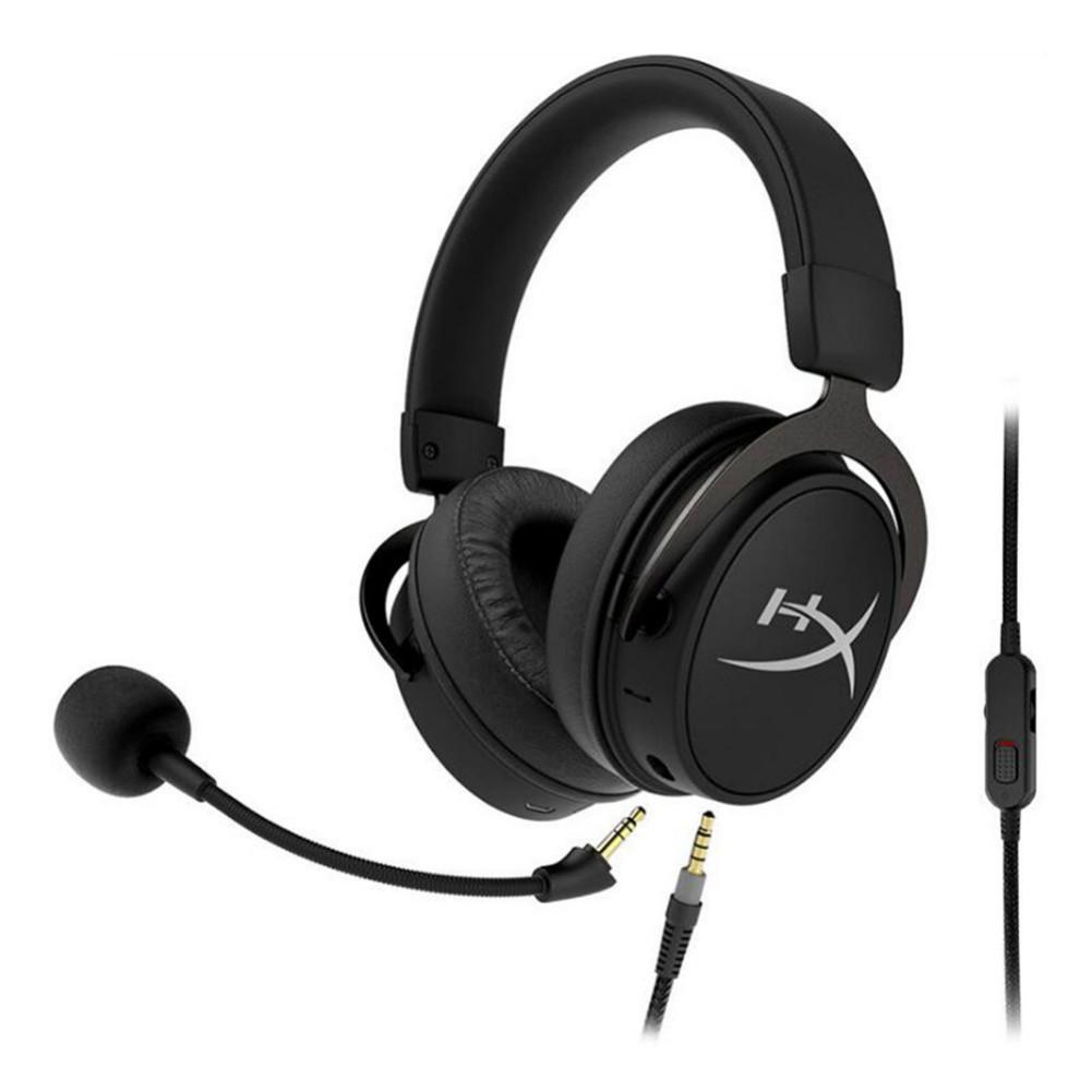 on-ear-over-ear-headphones Kingston HyperX Cloud Mix Gaming Headset Dual-cavity Driver Bluetooth 4.2 Built-in/ Detachable Mic-Black Kingston HyperX Cloud Mix Gaming Headset Black 3