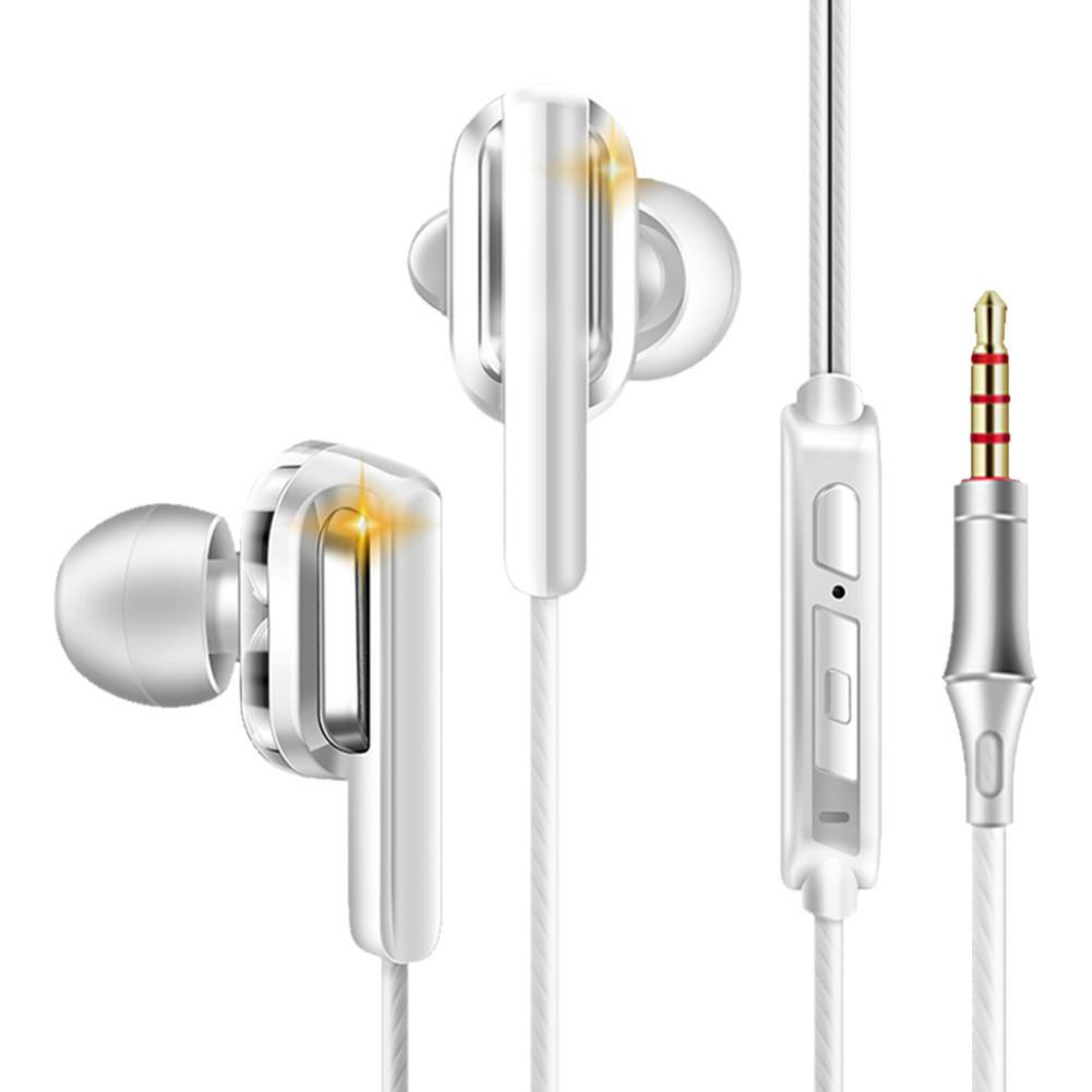 earbud-headphones QKZ CK3 Wired Earphones Bass Stereo In-Ear With Mic-White QKZ CK3 Earphones In Ear White
