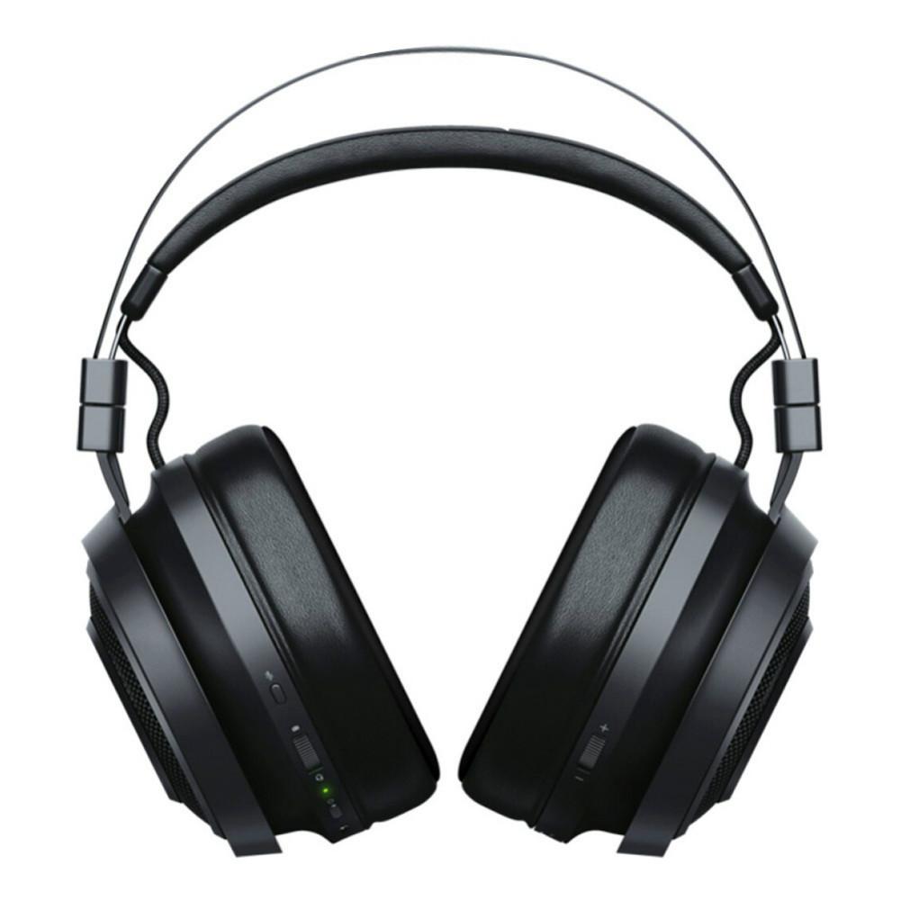on-ear-over-ear-headphones Razer Nari Essential 2.4G Wireless Gaming Headset THX Spatial Audio Virtual 7.1 Channel for PC/MAC/PS4-Black Razer Nari Wireless Gaming Headset Black 3 1