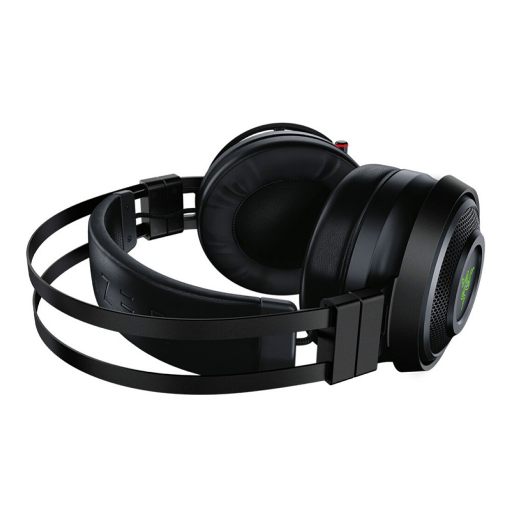 on-ear-over-ear-headphones Razer Nari Wireless 2.4GHz Gaming Headset THX Spatial Audio with Cho-Black Razer Nari Wireless Gaming Headset Black 5