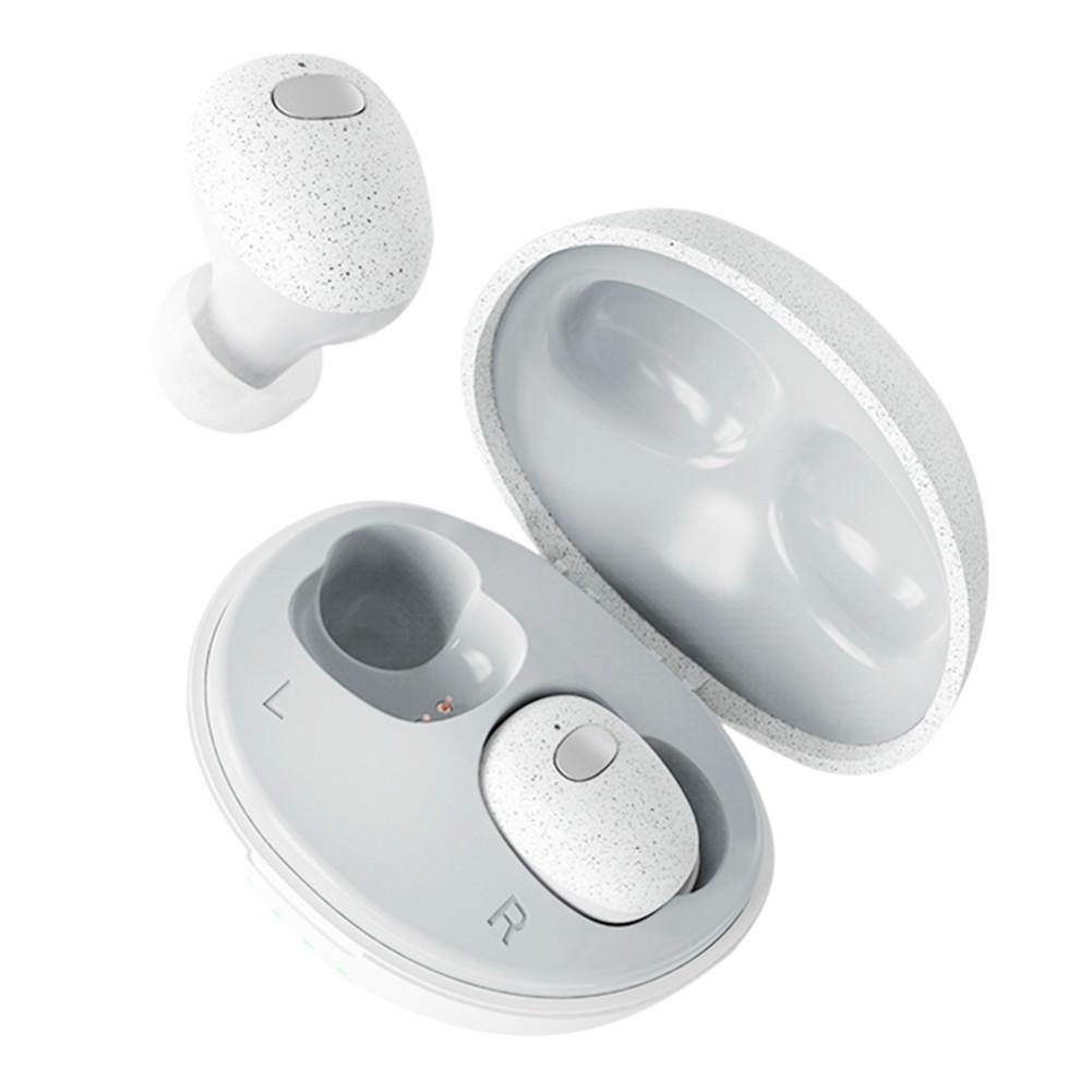 earbud-headphones T2 TWS Bluetooth Realtek 5.0 Wireless Earphone With Charging Case 400mAh-Black T2 TWS Bluetooth Earphone 1
