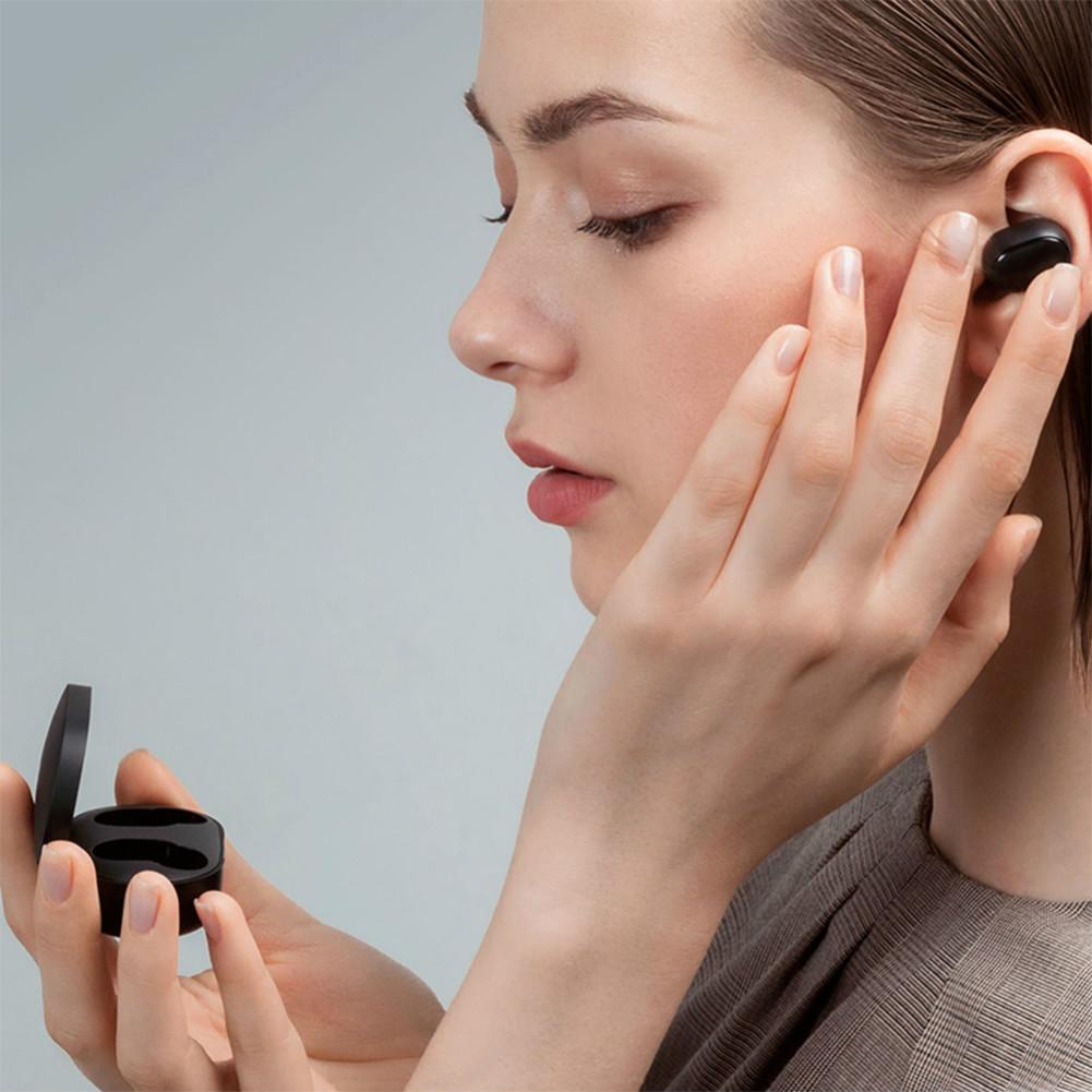 earbud-headphones Xiaomi Redmi AirDots TWS Bluetooth 5.0 earphone Noise Reduction Siri Google Assistant International Edition-Black Xiaomi Redmi AirDots TWS Earbuds Black 2