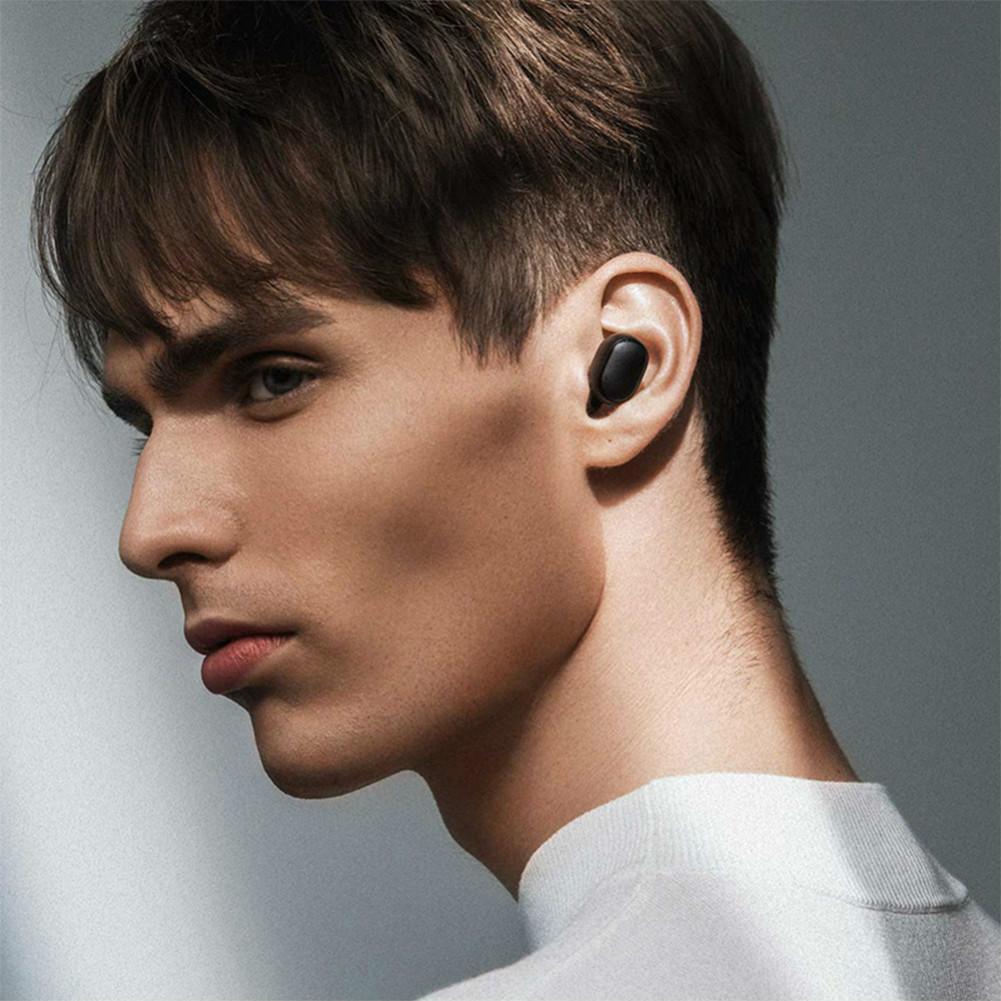 earbud-headphones Xiaomi Redmi AirDots TWS Bluetooth 5.0 earphone Noise Reduction Siri Google Assistant International Edition-Black Xiaomi Redmi AirDots TWS Earbuds Black 3