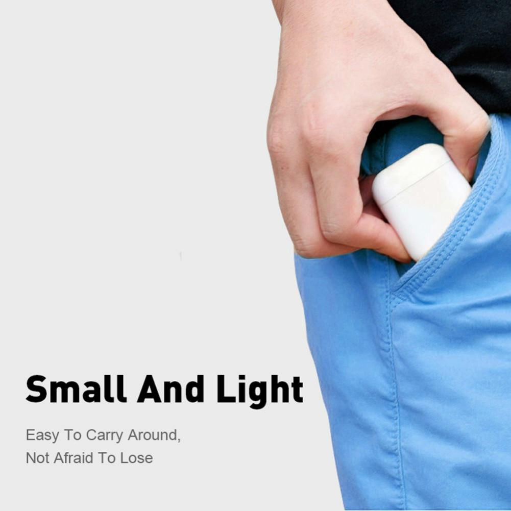 earbud-headphones i20 TWS Bluetooth 5.0 Earphones  Stereo HiFi Sound Bilateral Call350mAh Charging Bin Siri Assistant-White i20 Bluetooth 5 0 TWS Earphones White 1