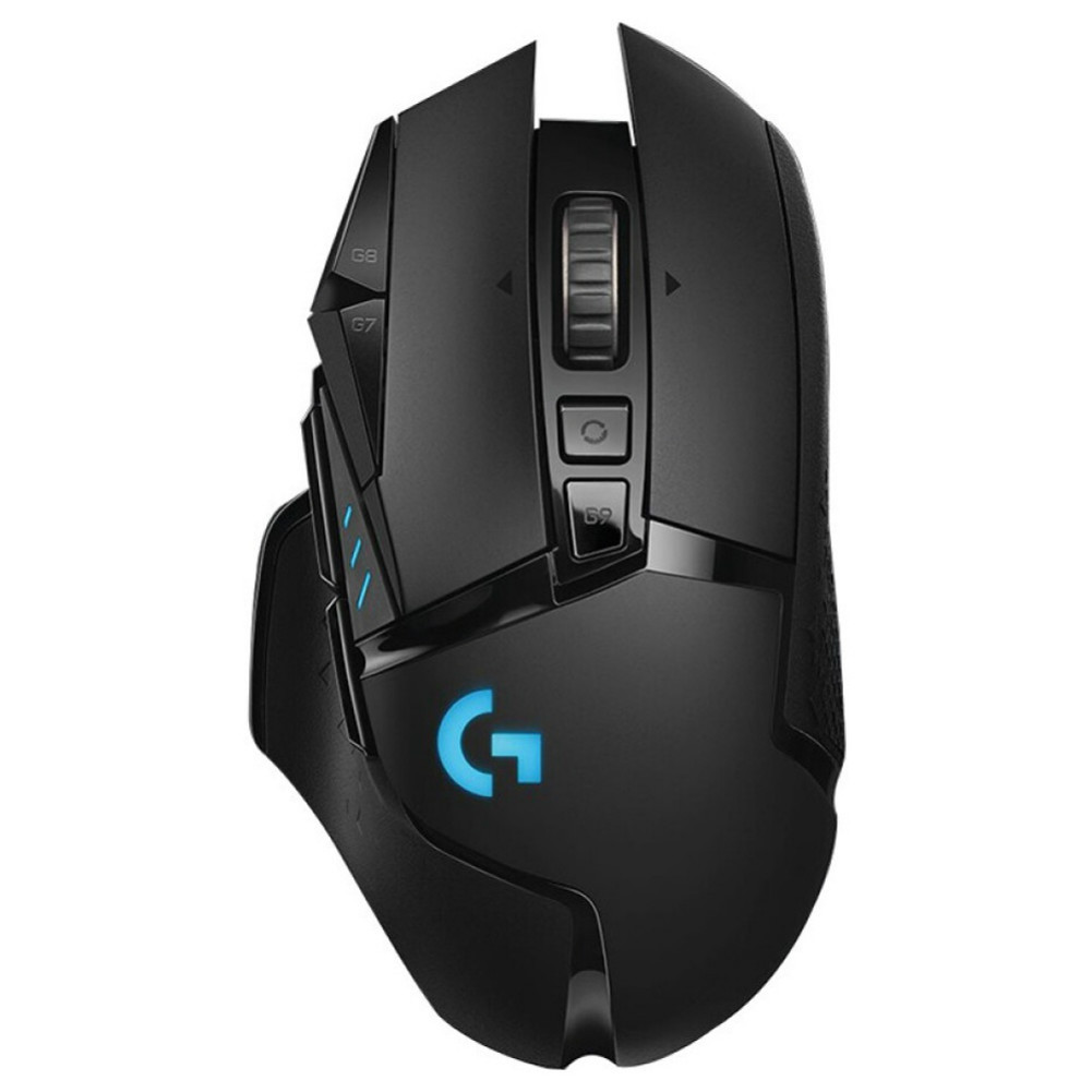 wireless-mouse-Logitech G502 HERO Wireless Gaming Mouse 16000DPI 11 Keys Tunable Weights - Black-Logitech G502 HERO Wireless Gaming Mouse