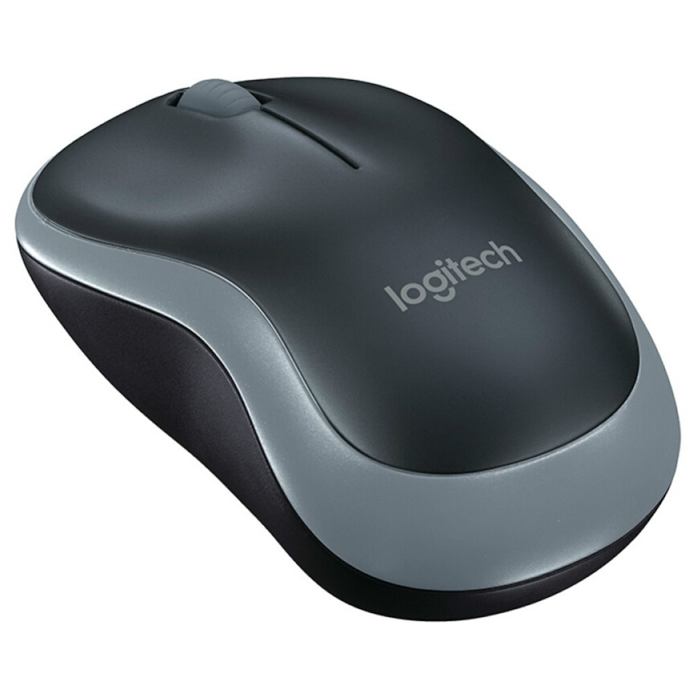 wireless-mouse Logitech M185 Wireless Mouse 3 Buttons Ambidextrous Design 1000 DPI-Black Logitech M185 Office Wireless Mouse 2