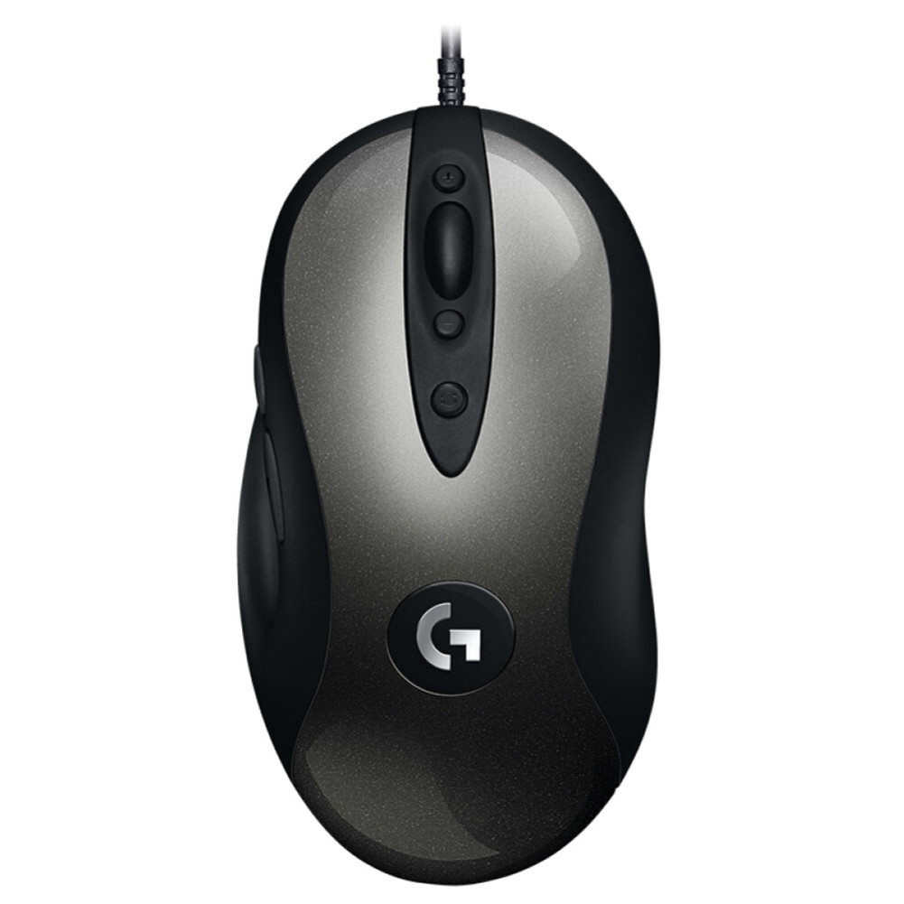 wired-mouse Logitech MX518 Classic Gaming Mouse 8 Programmable Buttons 16000 DPI Right Hand Wired - Black Logitech MX518 Gaming Mouse