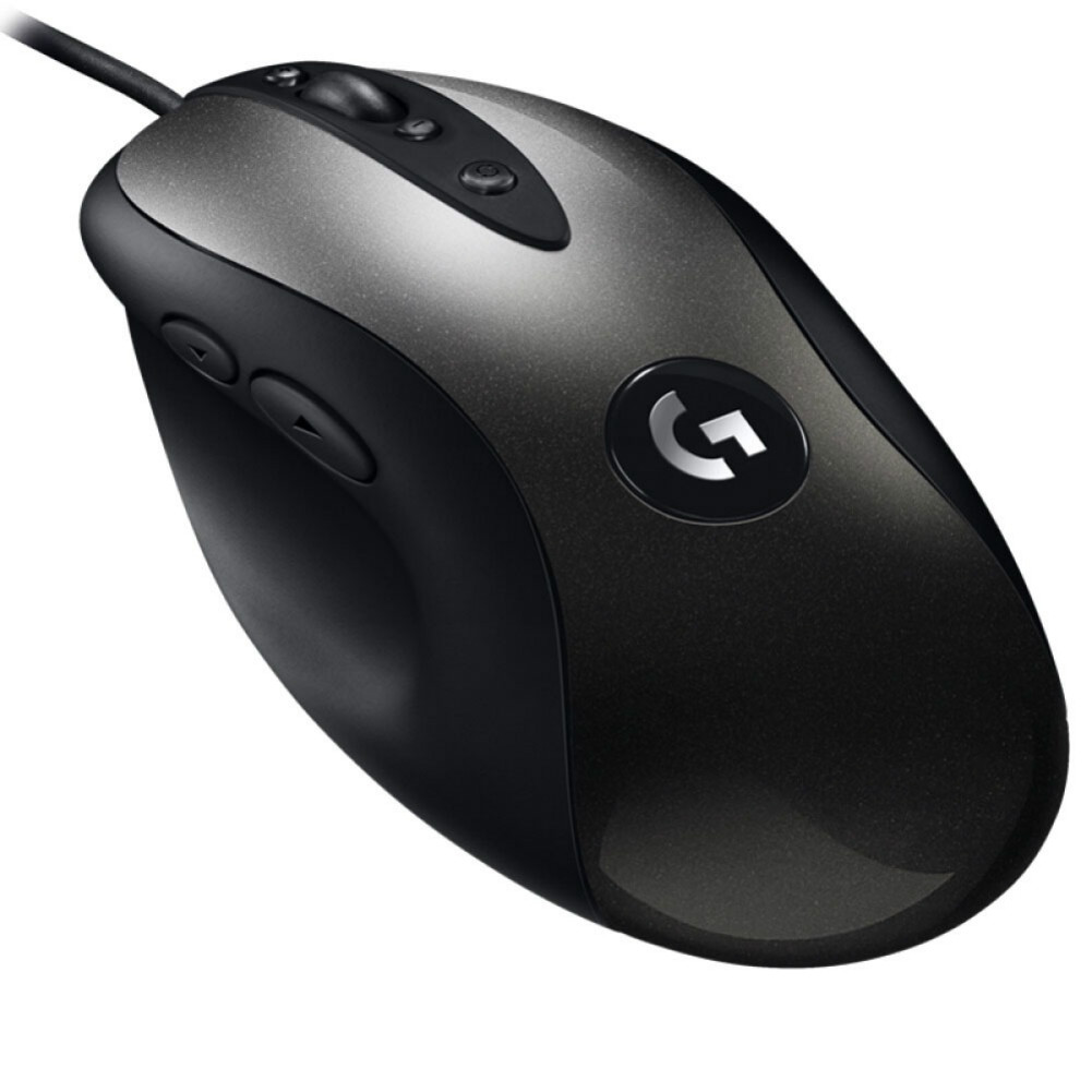 wired-mouse Logitech MX518 Classic Gaming Mouse 8 Programmable Buttons 16000 DPI Right Hand Wired - Black Logitech MX518 Gaming Mouse 4